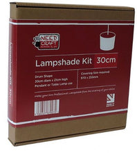Load image into Gallery viewer, Lampshade Making Kit - 30cm - 25% off