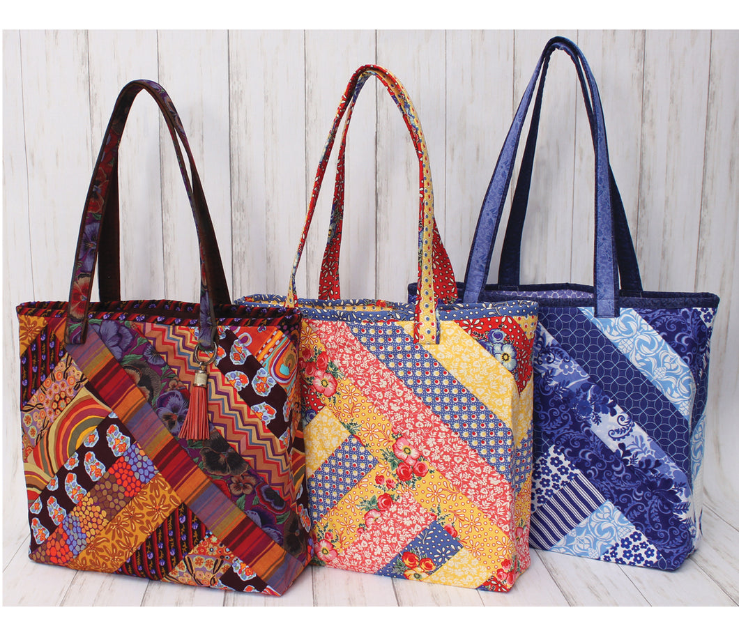 Quilt As you go by June Tailor - Alexandra Tote Bag