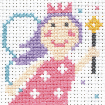 Anchor 1st Cross Stitch - Lola the Fairy