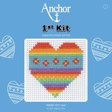Load image into Gallery viewer, Anchor 1st Cross Stitch - Heart