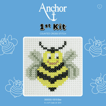 Load image into Gallery viewer, Anchor 1st Cross Stitch - Bee