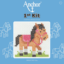 Load image into Gallery viewer, Anchor 1st Cross Stitch - Pony
