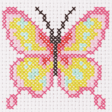 Anchor 1st Cross Stitch - Butterfly