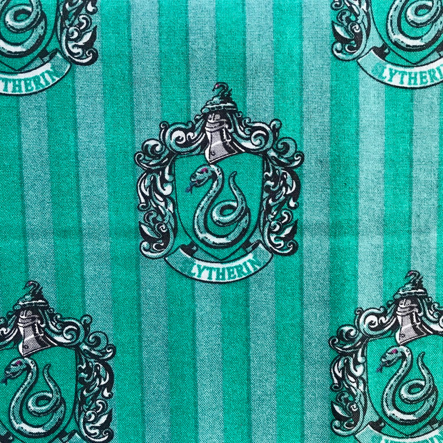 Harry Potter - Slytherin - 100% Cotton