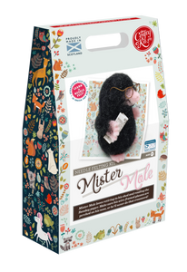The Crafty Kit Company - Mr Mole Needle Felting Kit
