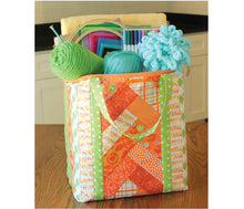 Load image into Gallery viewer, Quilt As you go by June Tailor - Set of 3 Shopper Totes