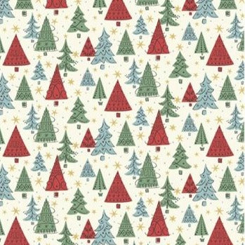 Liberty Christmas Collection - Noel Forest - 100% Cotton