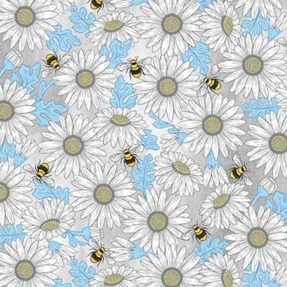 Queen Bee - Michael Miller - Feed The Bees - 100% Cotton