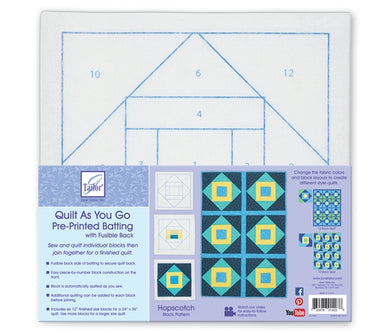 Quilt As you go by June Tailor - Hopscotch Quilt