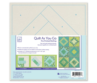 Quilt As you go by June Tailor - Paris on Point Quilt