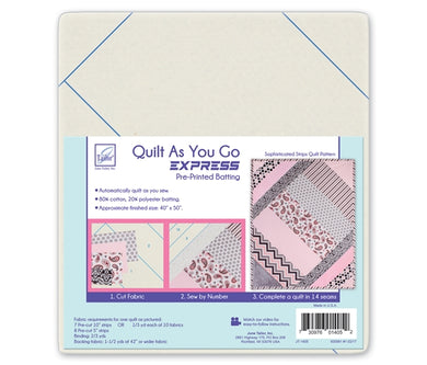 Quilt As you go by June Tailor - Sophisticated Stripes