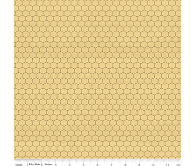 Bee's Life - Honeycomb - Riley Blake - 100% Cotton