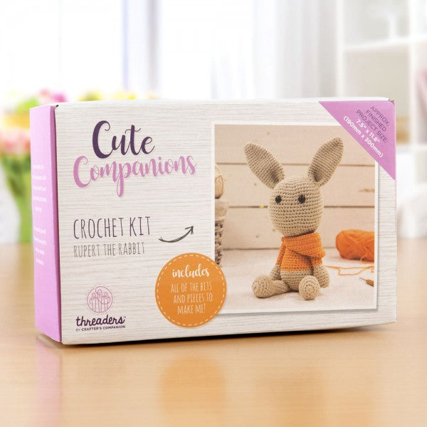 Cute Companions Crochet Kit  - Rupert The Rabbit