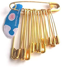 Load image into Gallery viewer, Safety Pins - Bunch of 12 assorted