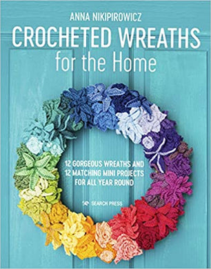 Crocheted Wreaths for The Home - 24 Projects