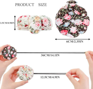 Floral Wrist Pin Cushion