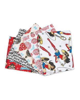 Fat Quarter Pack - DC Wonderwoman