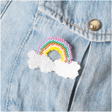 Load image into Gallery viewer, Beaded Brooch Kit