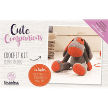 Load image into Gallery viewer, Cute Companions Crochet Kit  - Dexter The Dog