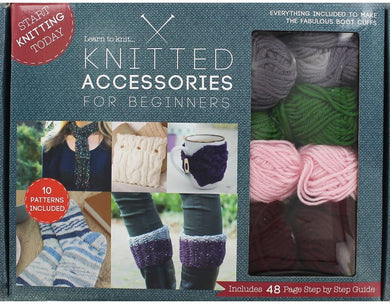 Knitted Accessories for Beginners
