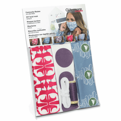 Pleated Face Covering Kit - Makes 3 - 20% off