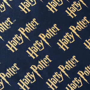Harry Potter - Logo - Black & Gold - 100% Cotton