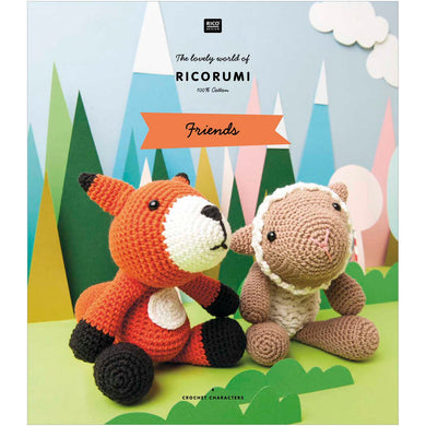 Ricorumi Pattern Book - Friends