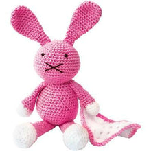 Load image into Gallery viewer, The Crafty Kit Company - Baby Bunny Crochet Kit