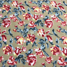 Load image into Gallery viewer, Flowers Poplin - 100% Cotton