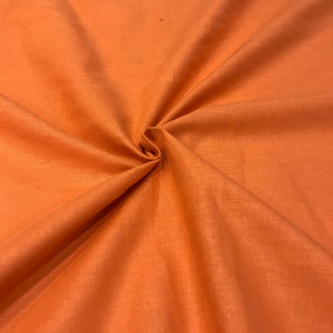 Plain Orange - 100% Cotton