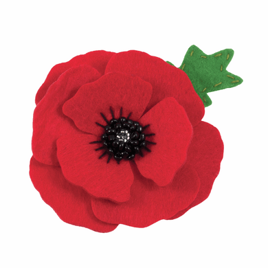 Poppy Brooch Sewing Kit