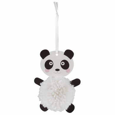 Panda Pom Pom Decoration Kit