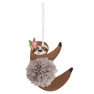 Sloth Pom Pom Decoration Kit