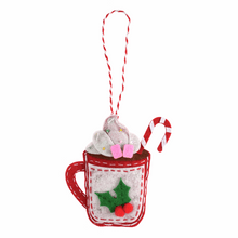 Load image into Gallery viewer, Christmas Hot Chocolate Sewing Kit
