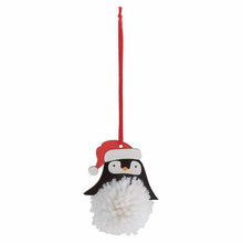 Load image into Gallery viewer, Christmas Penguin Pom Pom Decoration Kit