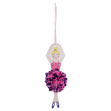 Ballerina Pom Pom Decoration Kit