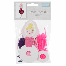Load image into Gallery viewer, Ballerina Pom Pom Decoration Kit