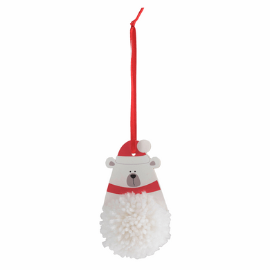 Polar Bear Pom Pom Decoration Kit