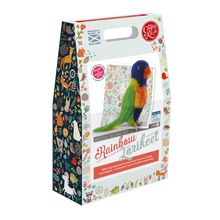 Load image into Gallery viewer, The Crafty Kit Company - Rainbow Lorikeet Needle Felting Kit