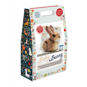 The Crafty Kit Company - Baby Bunny Needle Felting Kit