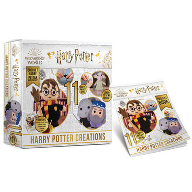 Harry Potter - Amigurumi Crochet Kit with Extra patterns