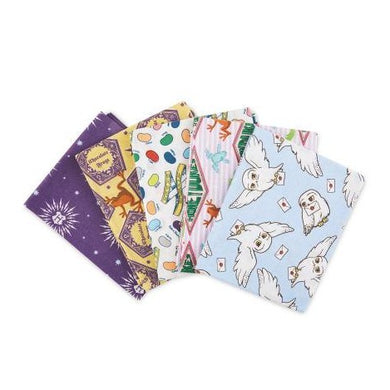 Fat Quarter Pack - Harry Potter - Honeydukes