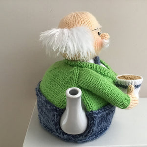Grandpa - Knitted Tea Cosy Kit