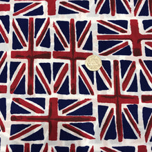 Load image into Gallery viewer, Union Jacks - 100% Cotton