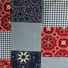 Load image into Gallery viewer, Bandana Patchwork -  By Michael Miller - 100% Cotton