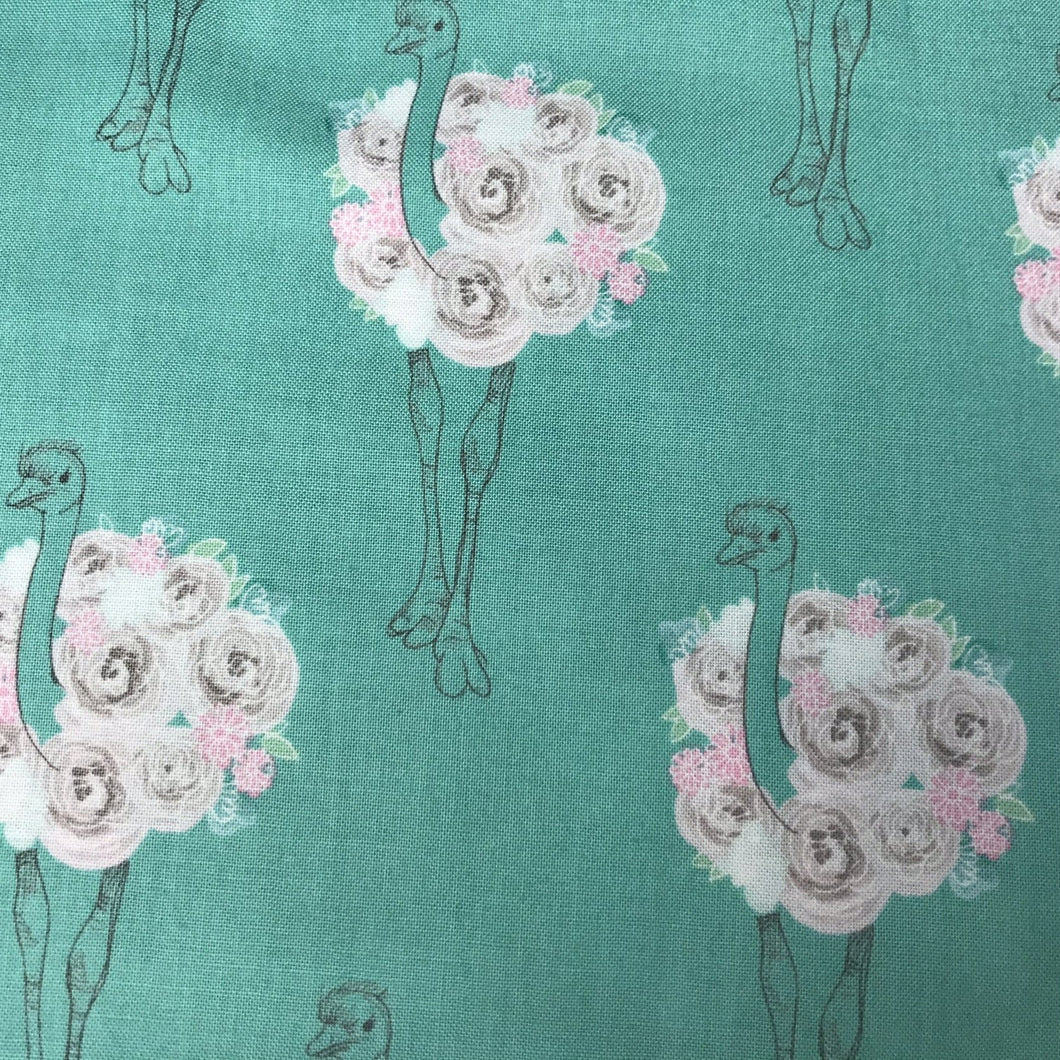 Flowery Ostrich - By Riley Blake - 100% Cotton
