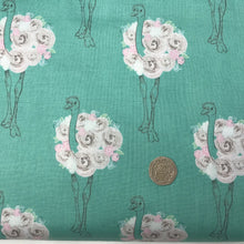 Load image into Gallery viewer, Flowery Ostrich - By Riley Blake - 100% Cotton