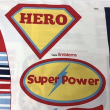 Load image into Gallery viewer, Super Hero Cape - by Riley Blake - 100% Cotton