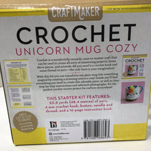 Load image into Gallery viewer, Crochet Unicorn mug cozy - 25% off