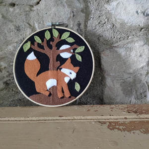The Crafty Kit Company - Country Fox Applique Kit